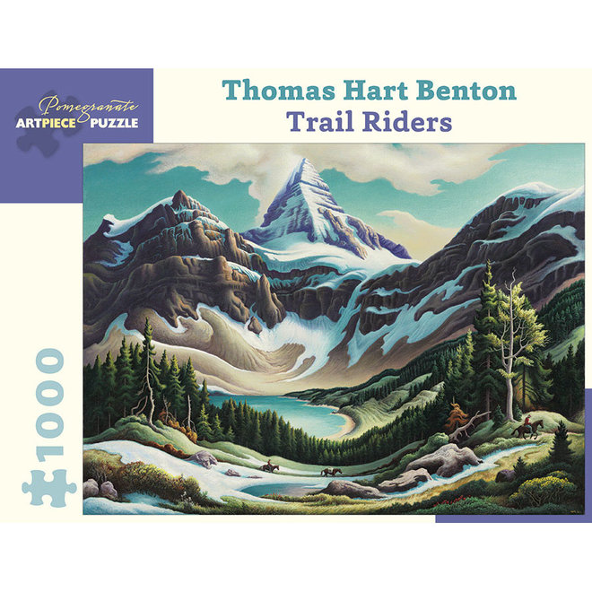 Thomas Hart Benton: Trail Riders - 1000 pcs