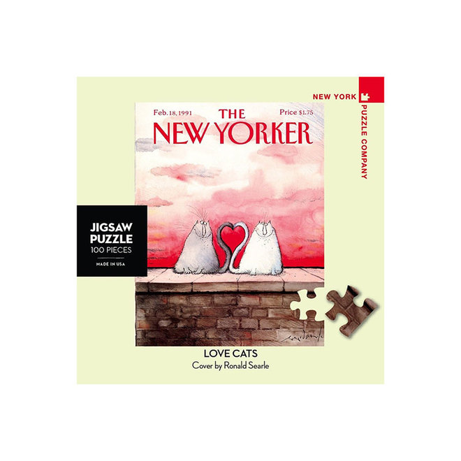The New Yorker: Love Kittens Mini - 100 pcs