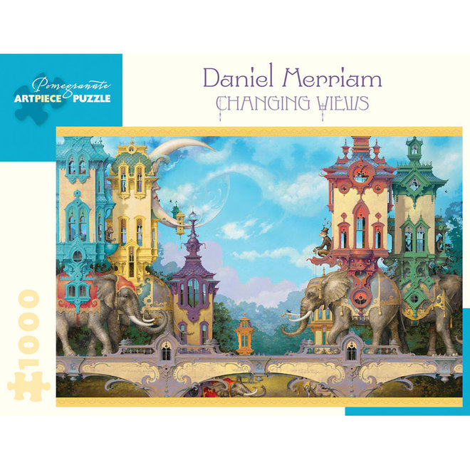 Daniel Merriam: Changing Views - 1000 pcs