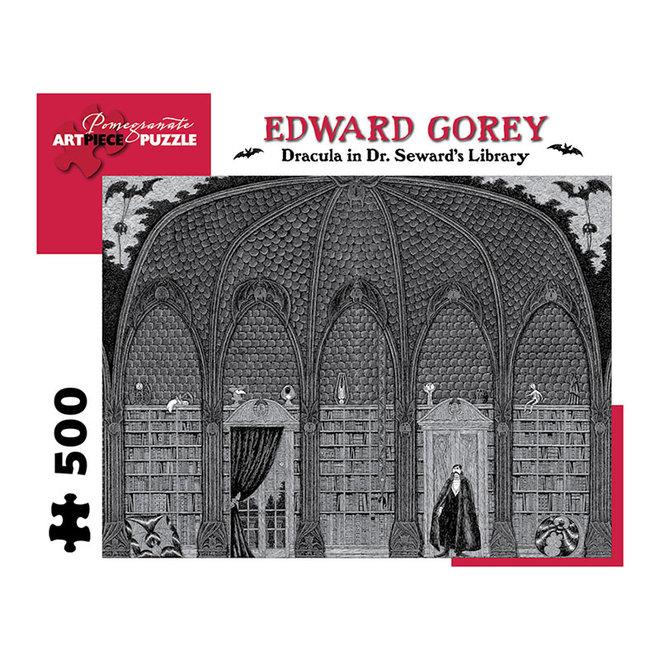 Edward Gorey: Dracula in Dr Seward's Library - 500 pcs