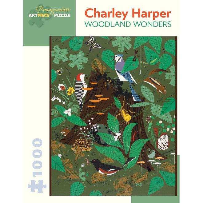 Charley Harper: Woodland Wonders - 1000 pcs