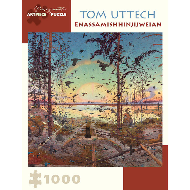 Tom Uttech: Enassamishhinjijweian - 1000 pcs