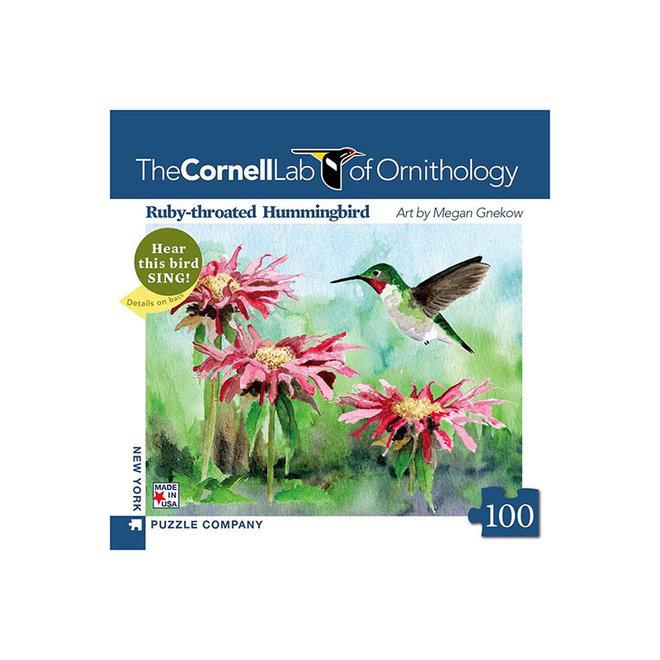 Cornell Lab of Ornithology: Ruby-throated Hummingbird Mini - 100 pcs
