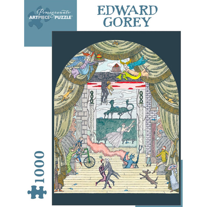 Edward Gorey: Untitled, Ballet - 1000 pcs