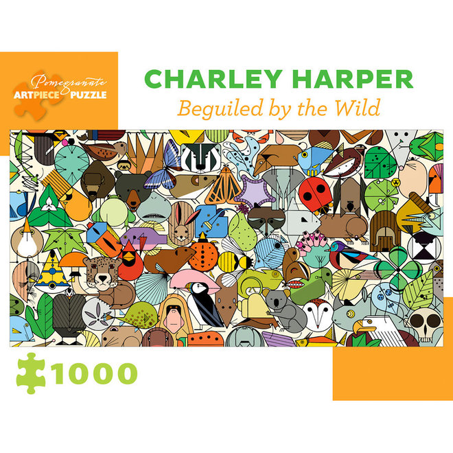 Charley Harper: Beguiled by Wild - 1000 pcs