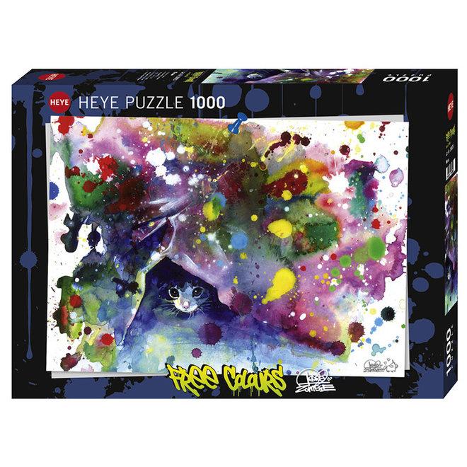 Free Colours: Meow - 1000 pcs