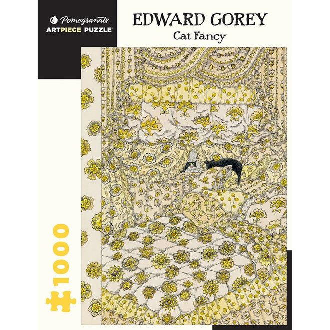 Edward Gorey: Cat Fancy - 1000 pcs