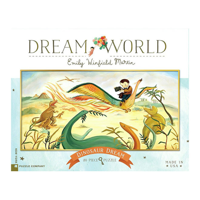 Dream World: Dinosaur Dream - 80 pcs