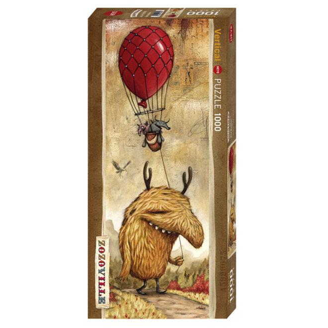 Zozoville: Red Balloon - 1000 pcs