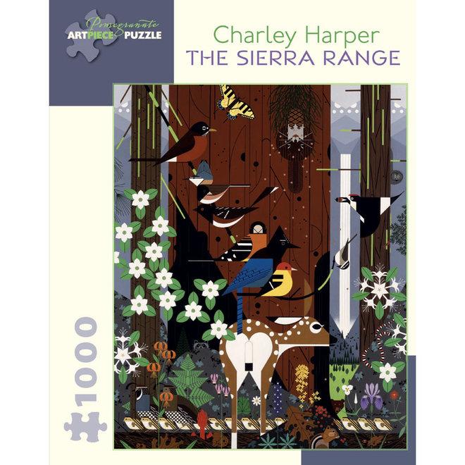 Charley Harper: The Sierra Range - 1000 pcs