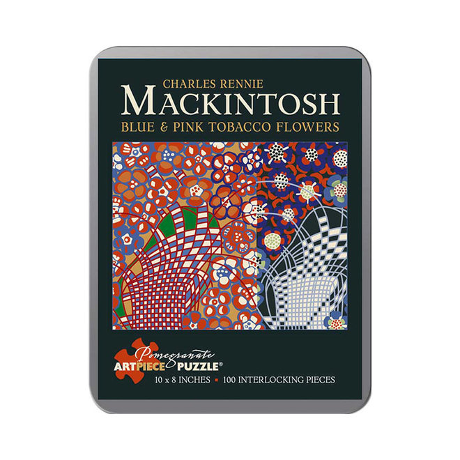 Charles Rennie Mackintosh: Blue and Pink Tobacco Flowers - 100 pcs