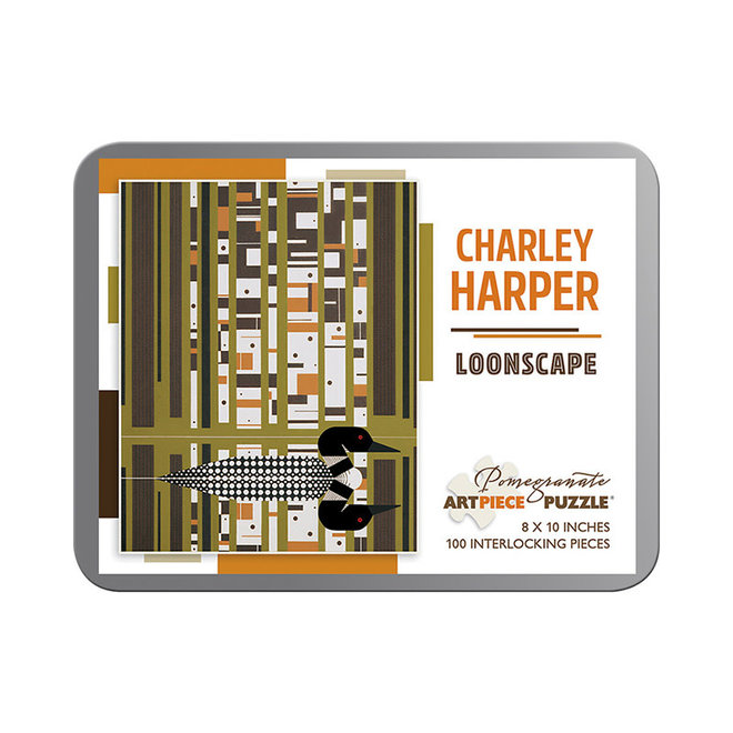 Charley Harper: Loonscape - 100 pcs