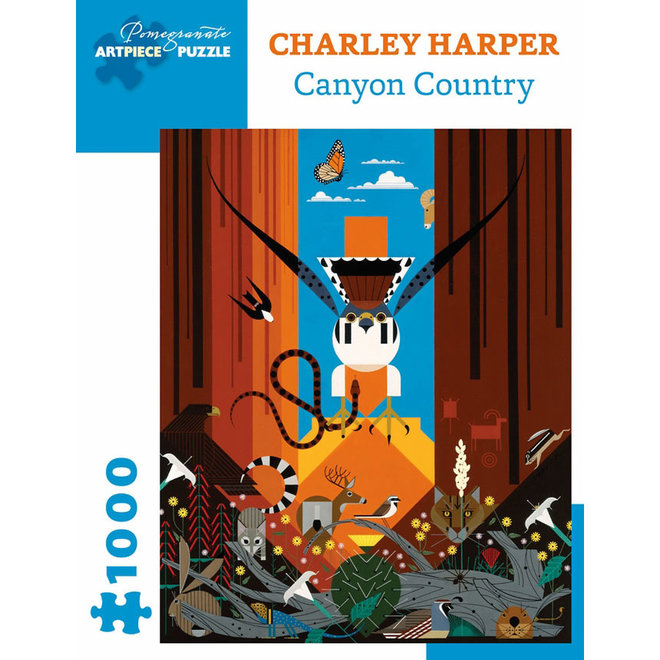Charley Harper: Canyon Country - 1000 pcs