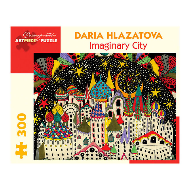 Daria Hlazatova: Imaginary City - 300 pcs