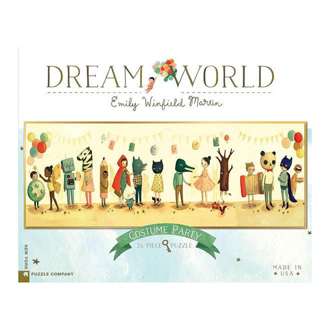 Dream World: Costume Party Floor Puzzle - 24 pcs