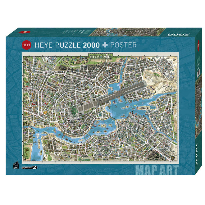 City of Pop - 2000 pcs