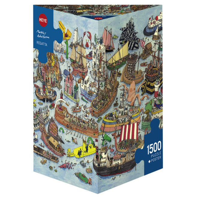 Adolfsson: Regatta - 1500 pcs