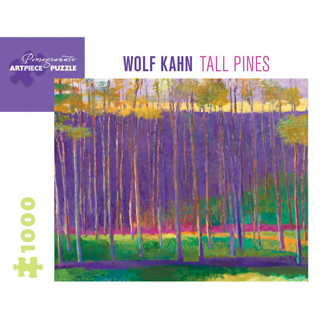 Wolf Kahn: Tall Pines - 1000 pcs