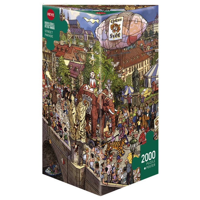 Göbel & Knorr: Street Parade - 2000 pcs