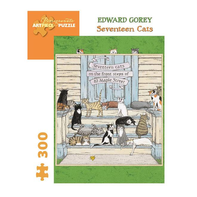 Edward Gorey: Seventeen Cats - 300 pcs