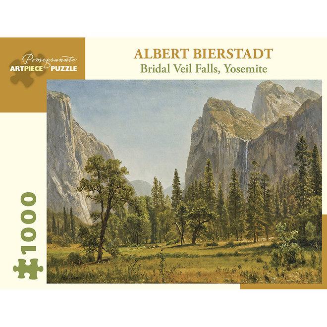 Albert Bierstadt: Bridal Veil Falls, Yosemite - 1000 pcs