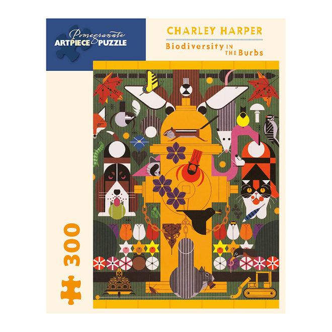 Charley Harper: Biodiversity in the Burbs - 300 pcs