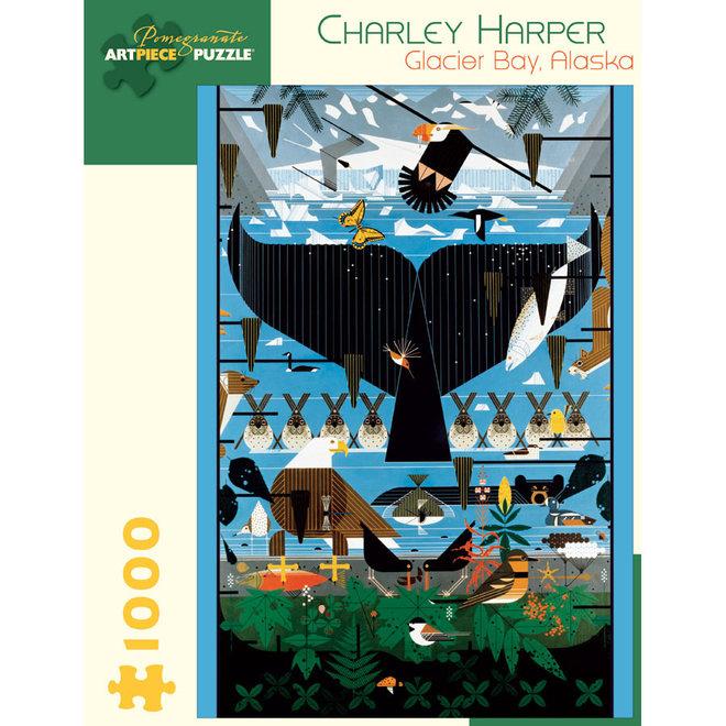 Charley Harper: Glacier Bay, Alaska - 1000 pcs