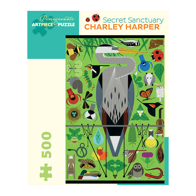 Charley Harper: Secret Sanctuary - 500 pcs