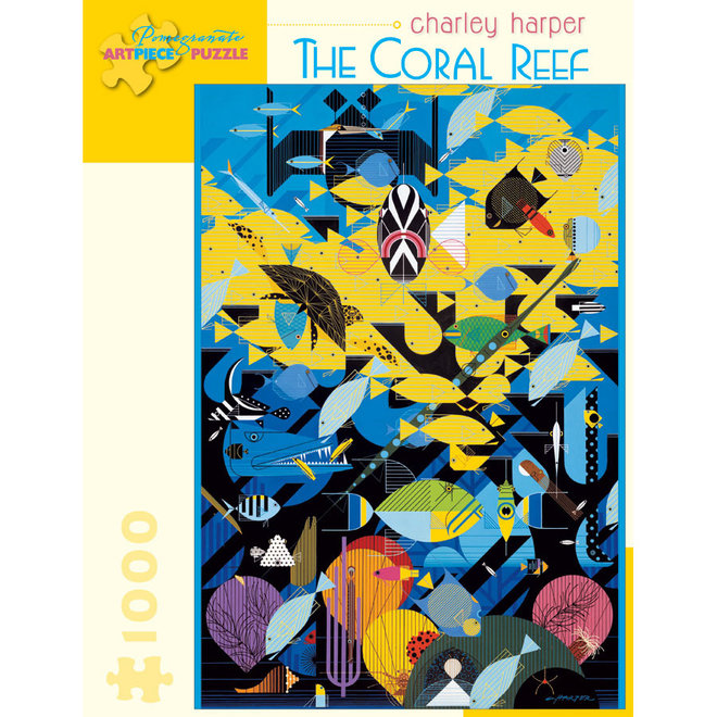 Charley Harper: The Coral Reef - 1000 pcs
