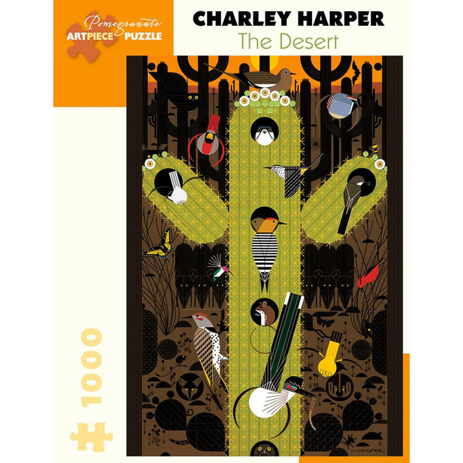 Charley Harper: The Desert - 1000 pcs