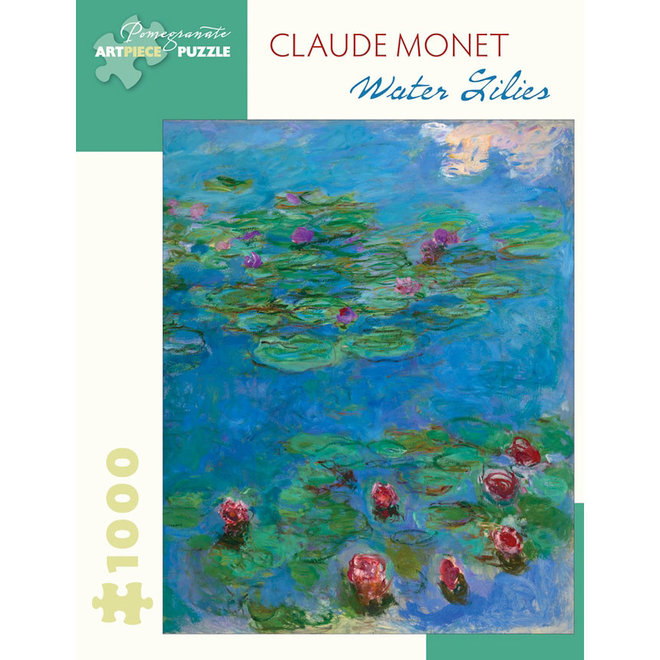 Claude Monet: Water Lilies - 1000 pcs