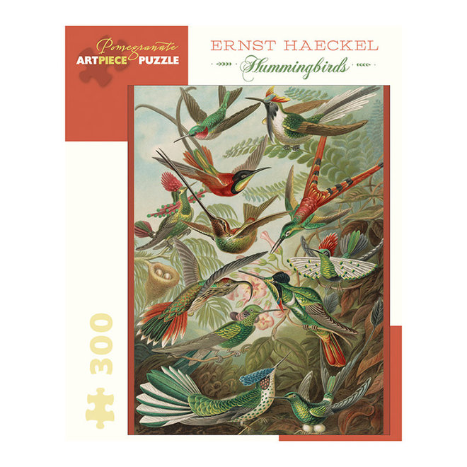 Ernst Haeckel: Hummingbirds - 300 pcs