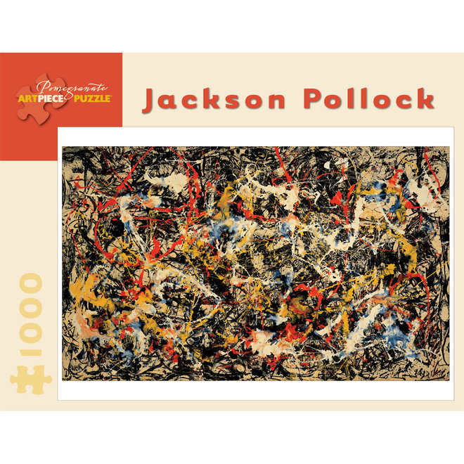 Jackson Pollock: Convergence - 1000 pcs