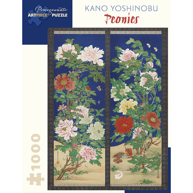 Kano Yoshinobu: Peonies - 1000 pcs