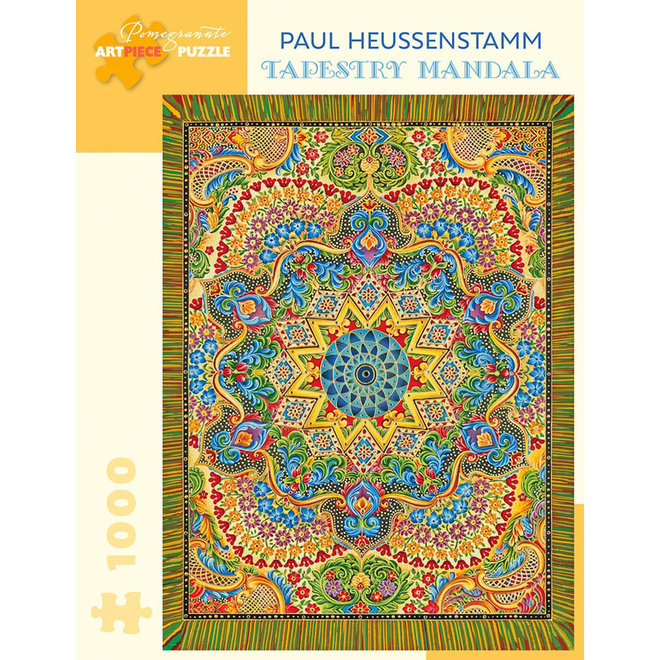 Paul Heussenstamm: Tapestry Mandala - 1000 pcs