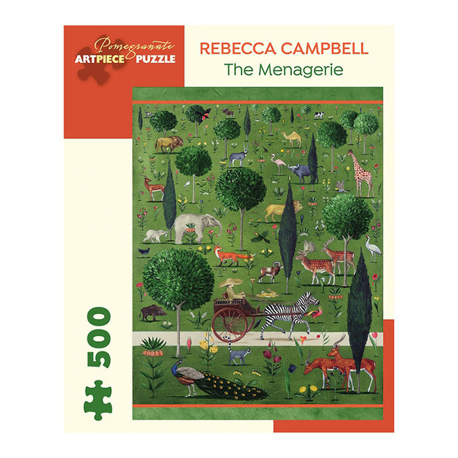 Rebecca Campbell: The Menagerie - 500 pcs
