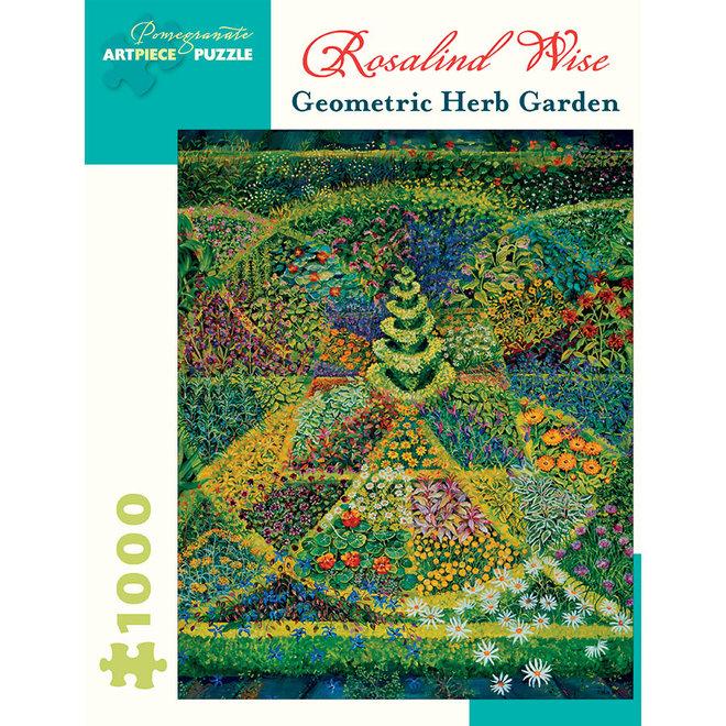 Rosalind Wise: Geometric Herb - 1000 pcs