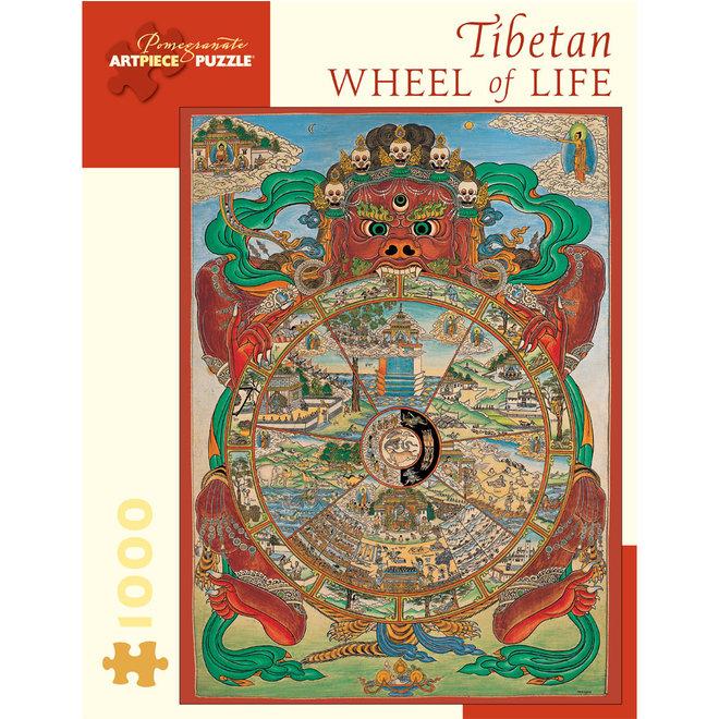 Tibetan Wheel of Life - 1000 pcs
