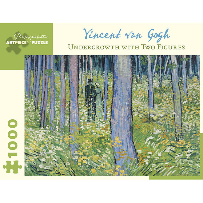 Vincent Van Gogh: Undergrowth with Two Figures - 1000 pcs