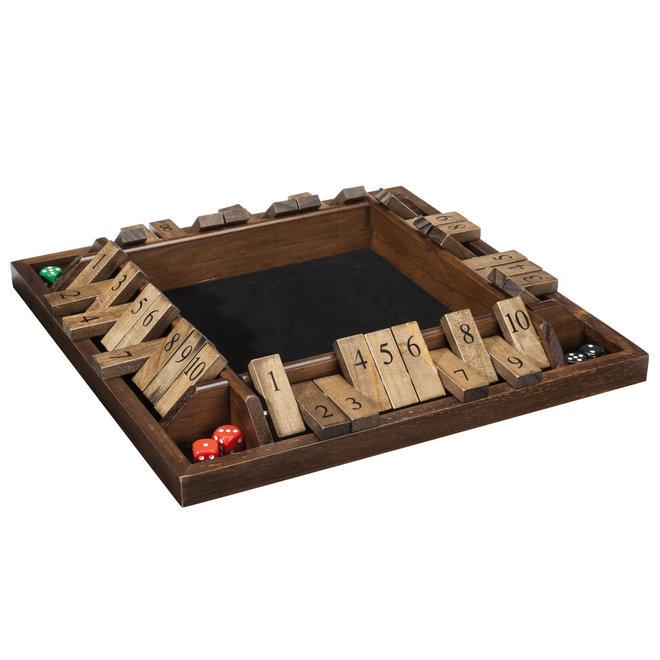 4-Player Shut the Box - 8 inch