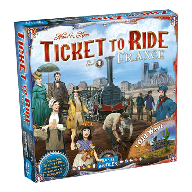 Ticket to Ride: Collection 6 - France and Old West