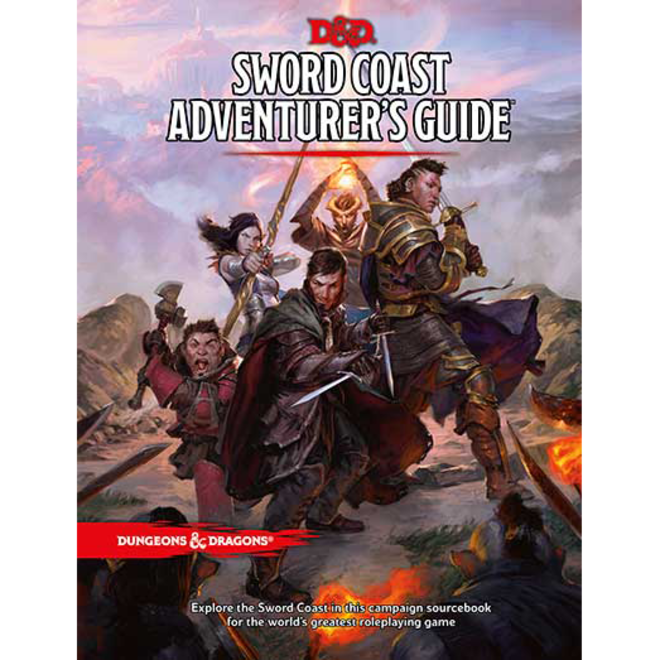 D&D: Sword Coast Adventurers Guide