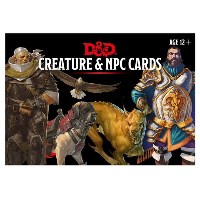 D&D Monster Cards: Creature & NPC