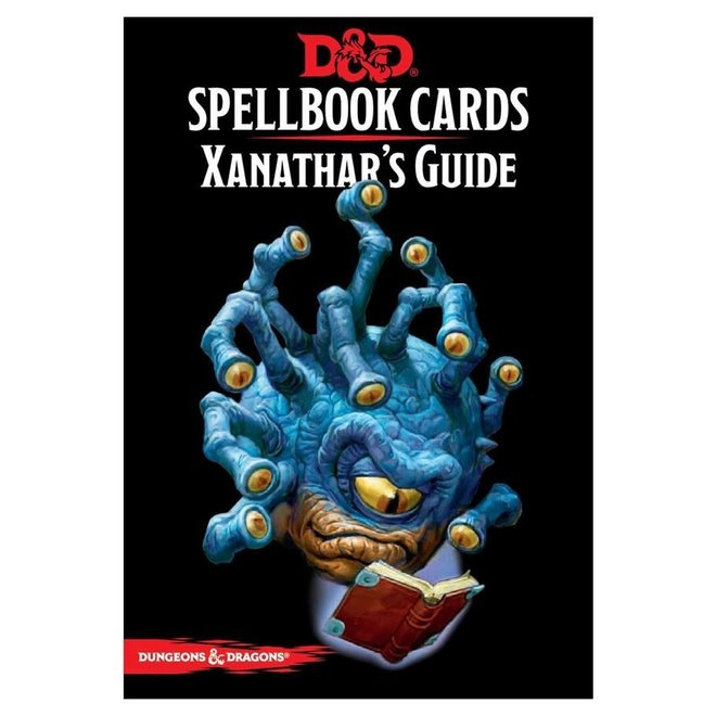 D&D Spellbook Cards: Xanathar's Guide Deck
