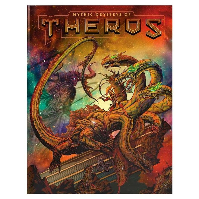 D&D: Mythic Odysseys of Theros - Alt Cover