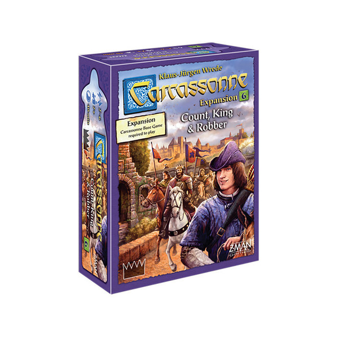 Carcassonne: Expansion 6 - Court, King, & Robber