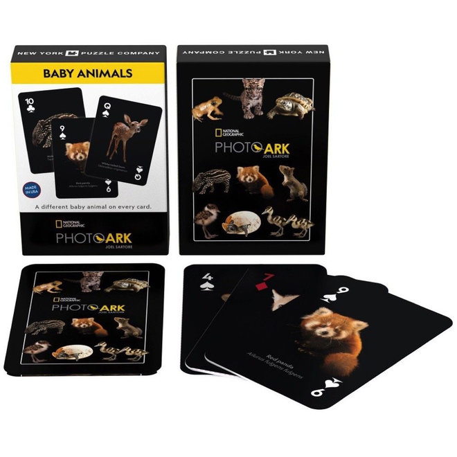 National Geographic - Baby Animals Playing Cards