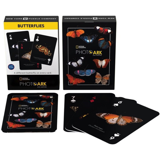 National Geographic - Butterflies Playing Cards