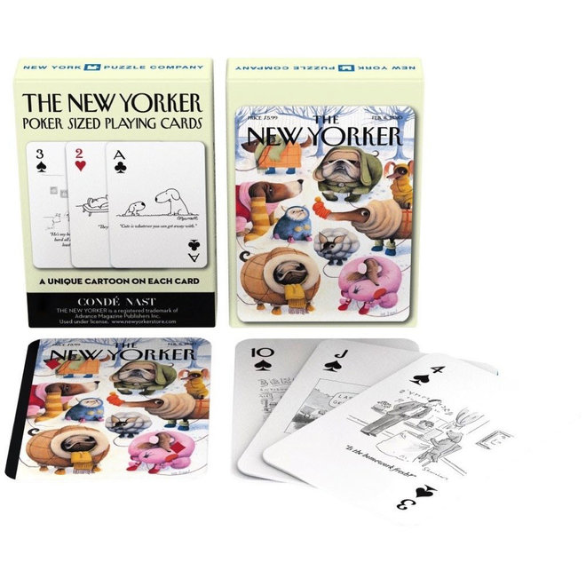 The New Yorker - Dog Cartoon Playing Cards