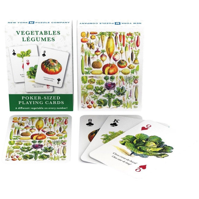 Vintage - Vegetable Playing Cards